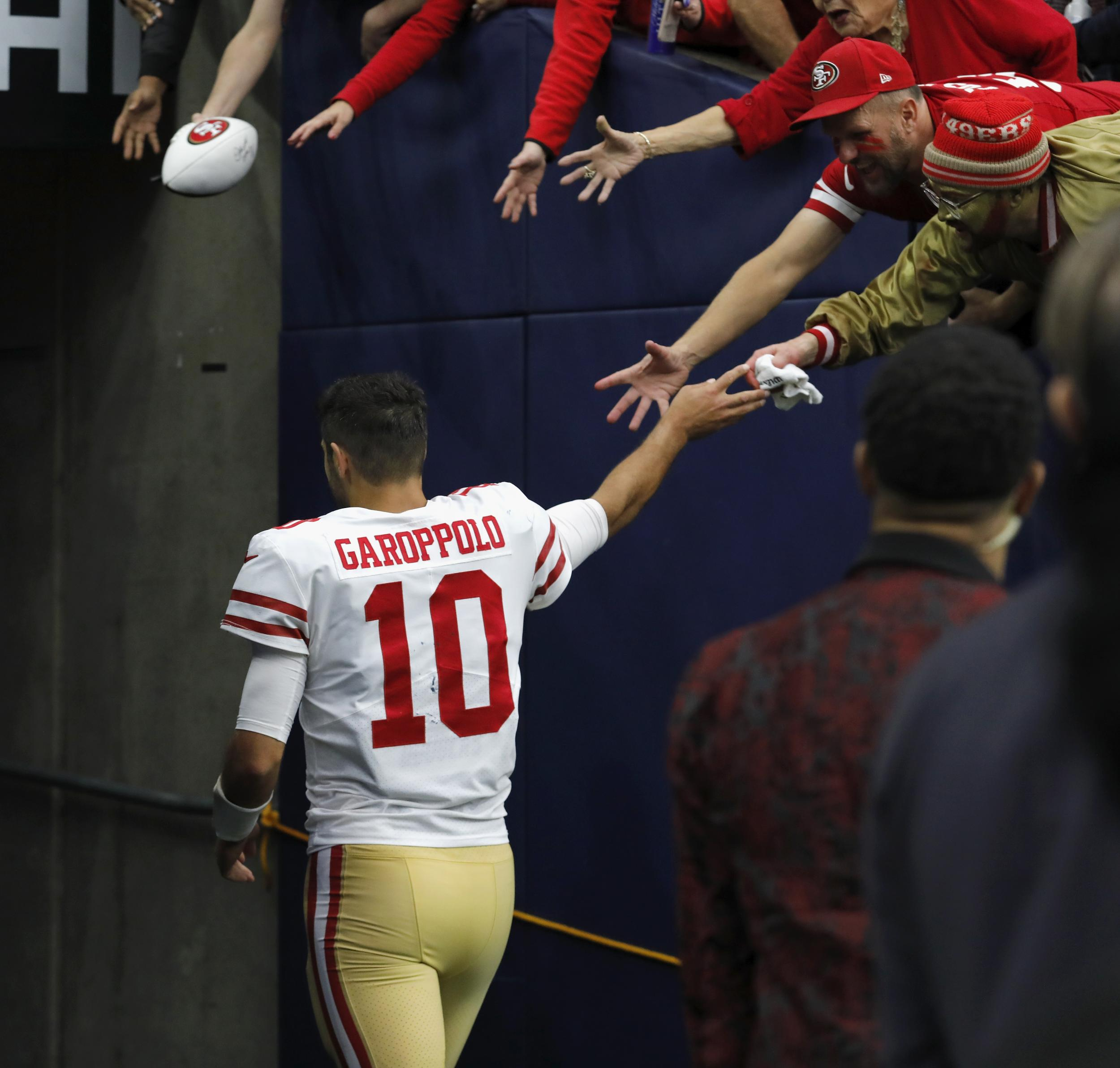 03bdbdfa4  We re going to win the Super Bowl   How Jimmy Garoppolo took just one  month to transform the San Francisco 49ers