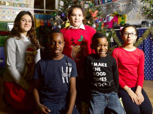 Five children who survived Grenfell Tower fire deliver alternative Christmas message