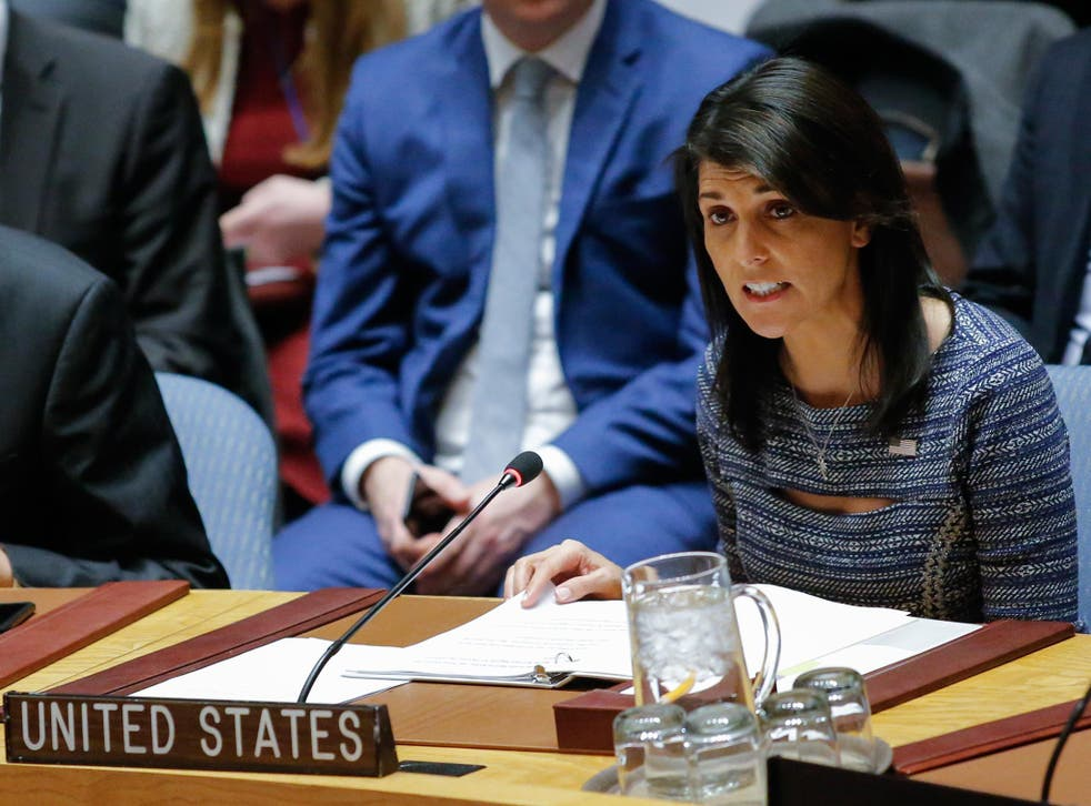 Nikki Haley, US ambassador to the UN, says 'inefficiency and overspending' of organisation is well-known