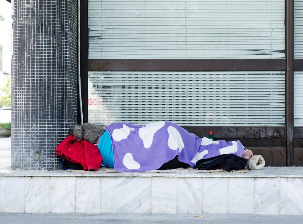 One in every 200 people in the UK sleep rough, according to the latest figures from Shelter