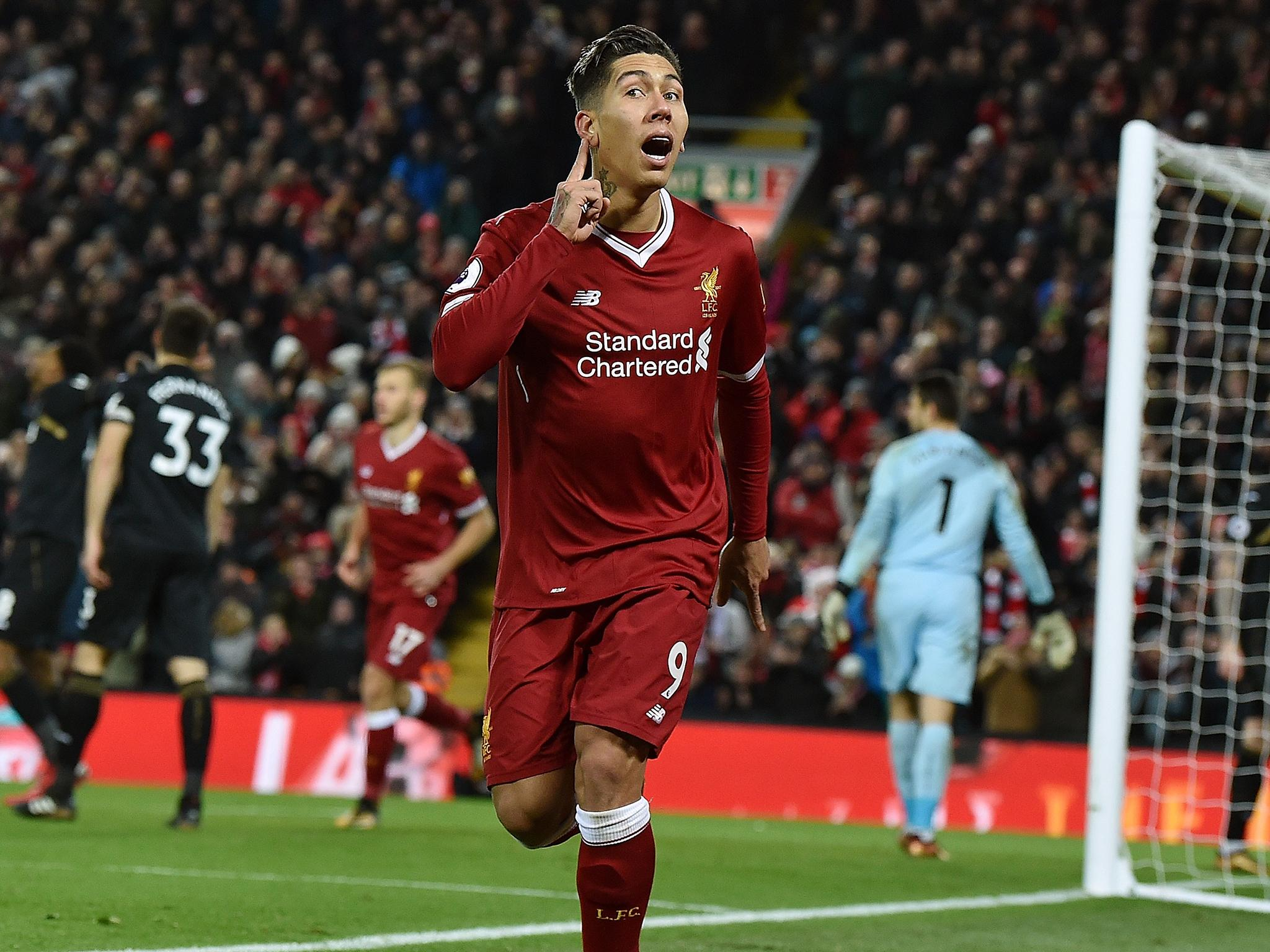 Liverpool vs Swansea player ratings: Roberto Firmino pick of the bunch as Reds run riot