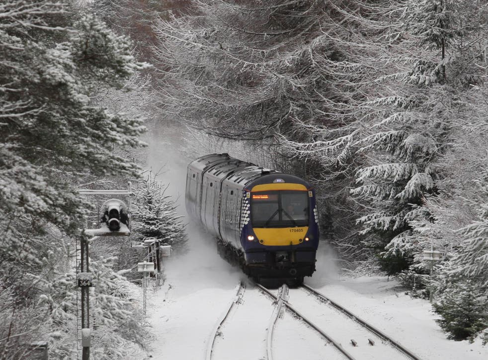 Snow in most parts of Britain – but especially the commuer belt of South-east England – remains a rarity