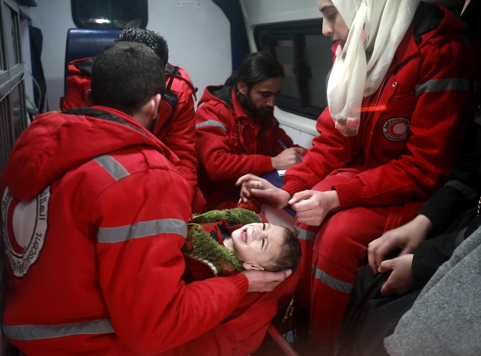 Heartwarming stories about children being evacuated from dangerous areas of Syria weren't all they seemed