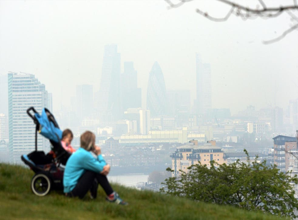 Each year 40,000 premature deaths in the UK are said to occur due to rising contamination