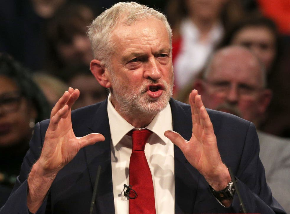 'For a generation, instead of finance serving industry, politicians have served finance,' says Corbyn