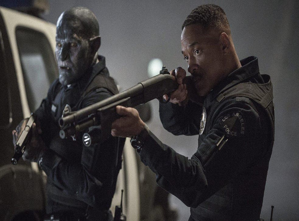 Joel Edgerton and Will Smith in 'Bright' Credit: Netflix.