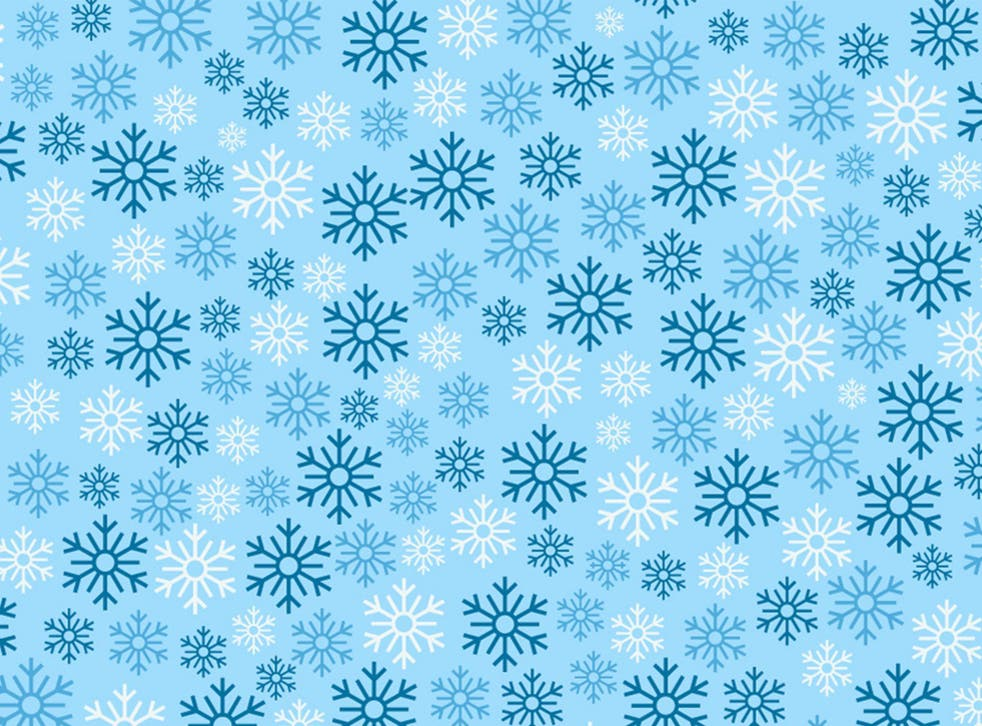 Which snowflake is the odd one out?