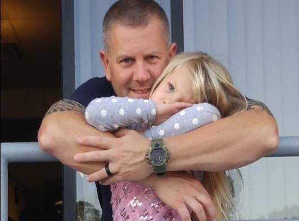 Marc Hadden and daughter Gracie