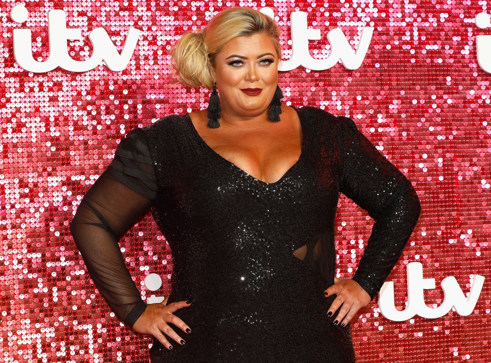 Gemma Collins arriving at the ITV Gala