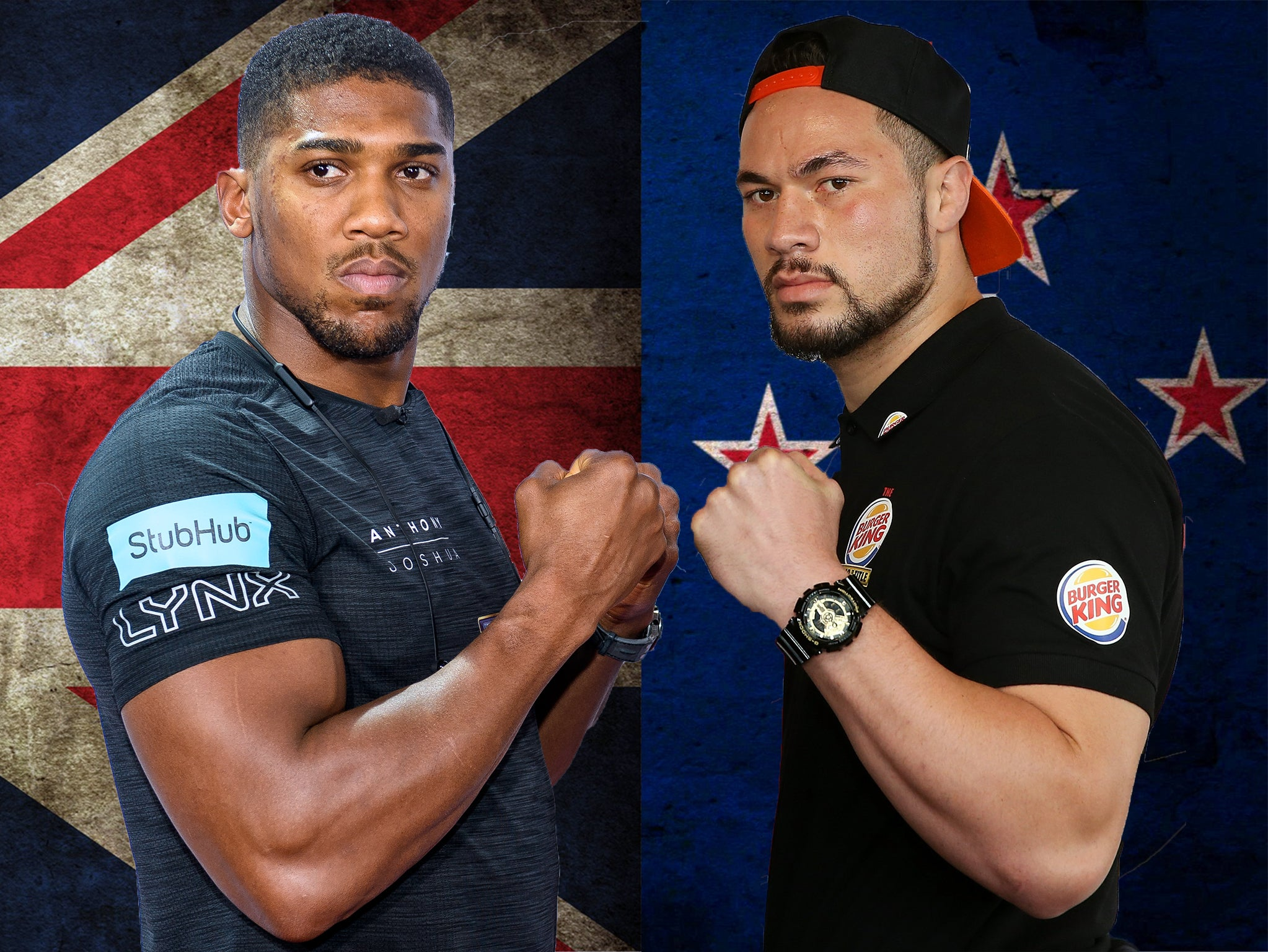 Anthony Joshua vs Joseph Parker press conference LIVE: Watch and follow  updates ahead of world title fight | The Independent
