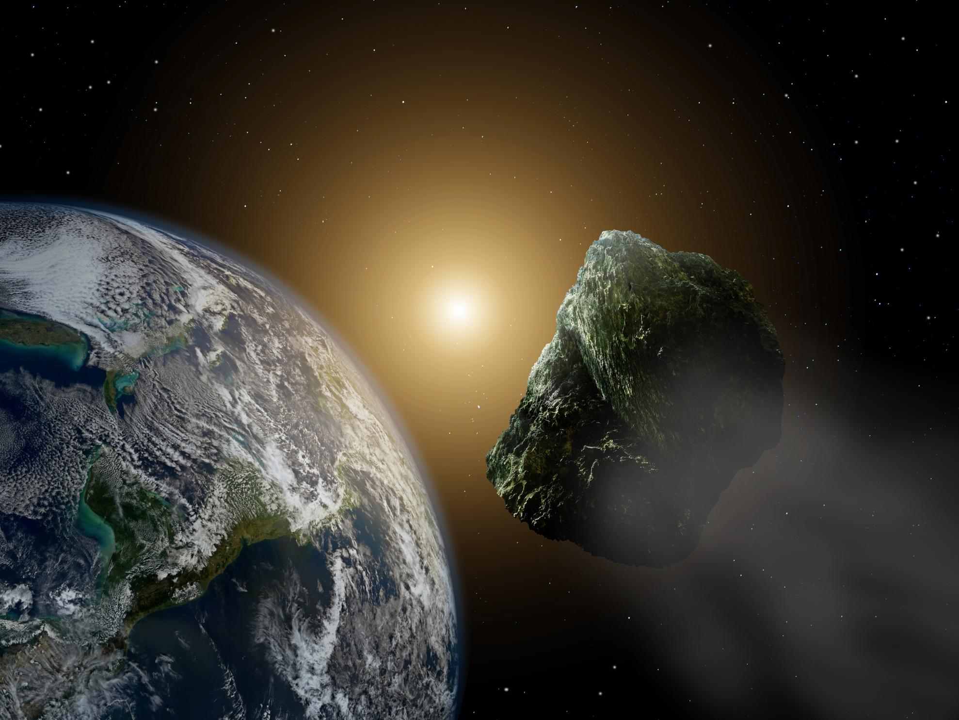 'Near-Earth' asteroid set to pass us by today at 21,000mph ...