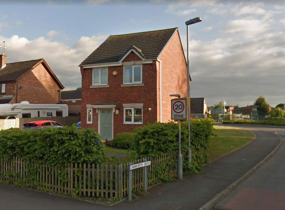 The woman was found dead in Carnforth Drive, Worcester