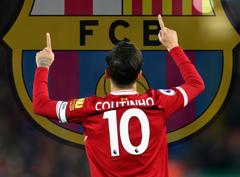 Philippe Coutinho has not ruled out moving to Barcelona