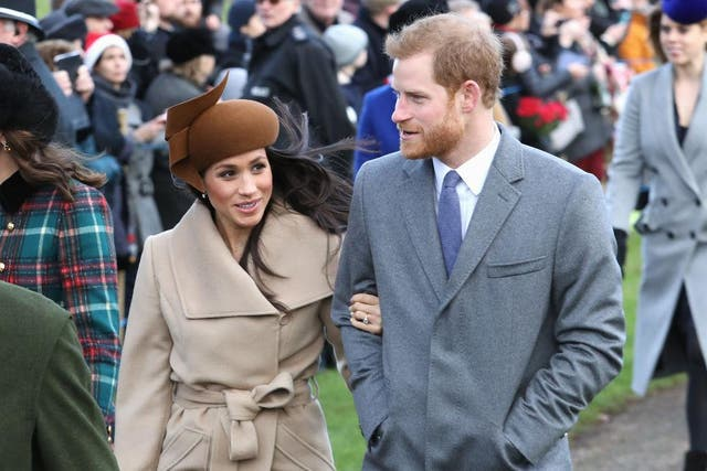 Tackling homelessness would reflect some of the charity work Prince Harry and Meghan Markle have done themselves