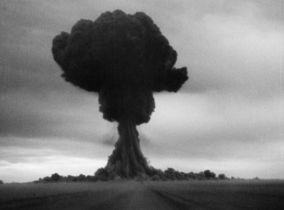 The first Soviet nuclear test, code named 'First Lightning', detonated a plutonium bomb, the RDS-1