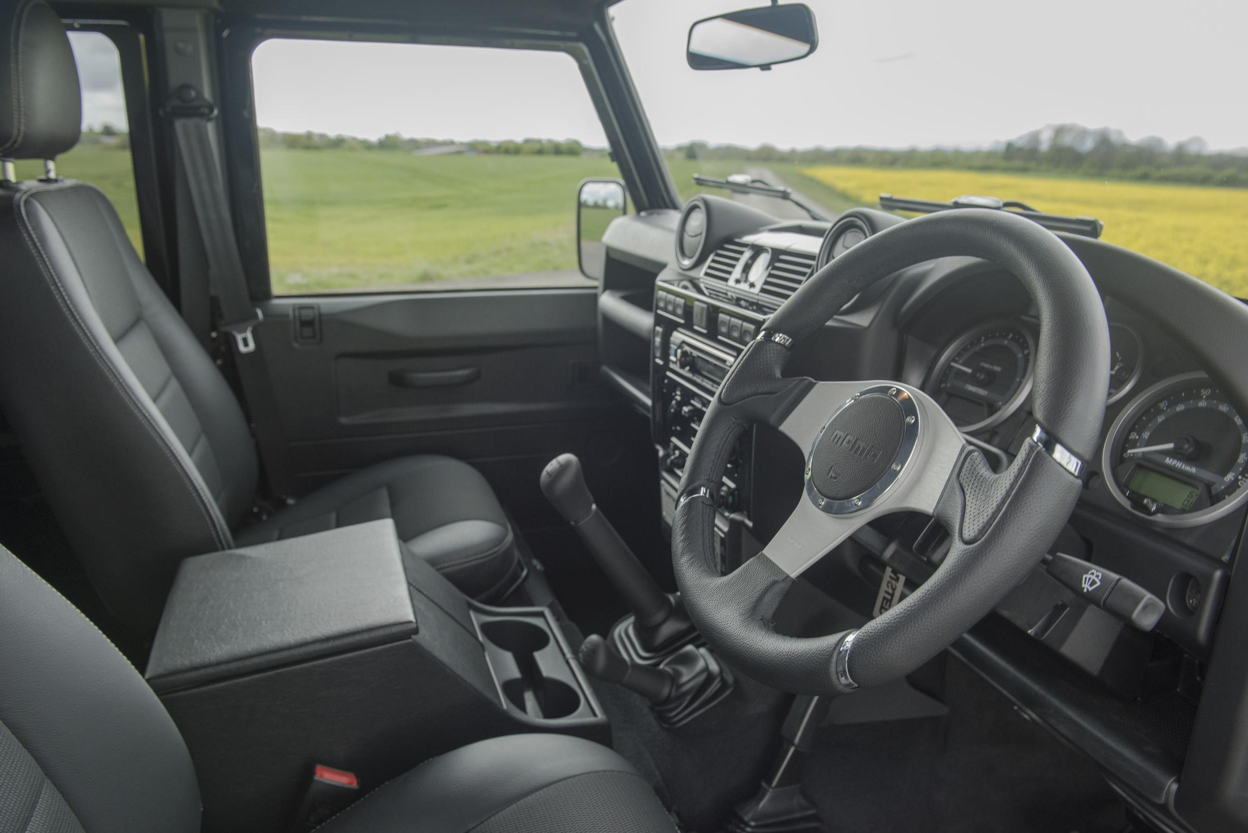 Car Review Twisted Land Rover Defender 110 Utility The Independent 4 6 Engine Get
