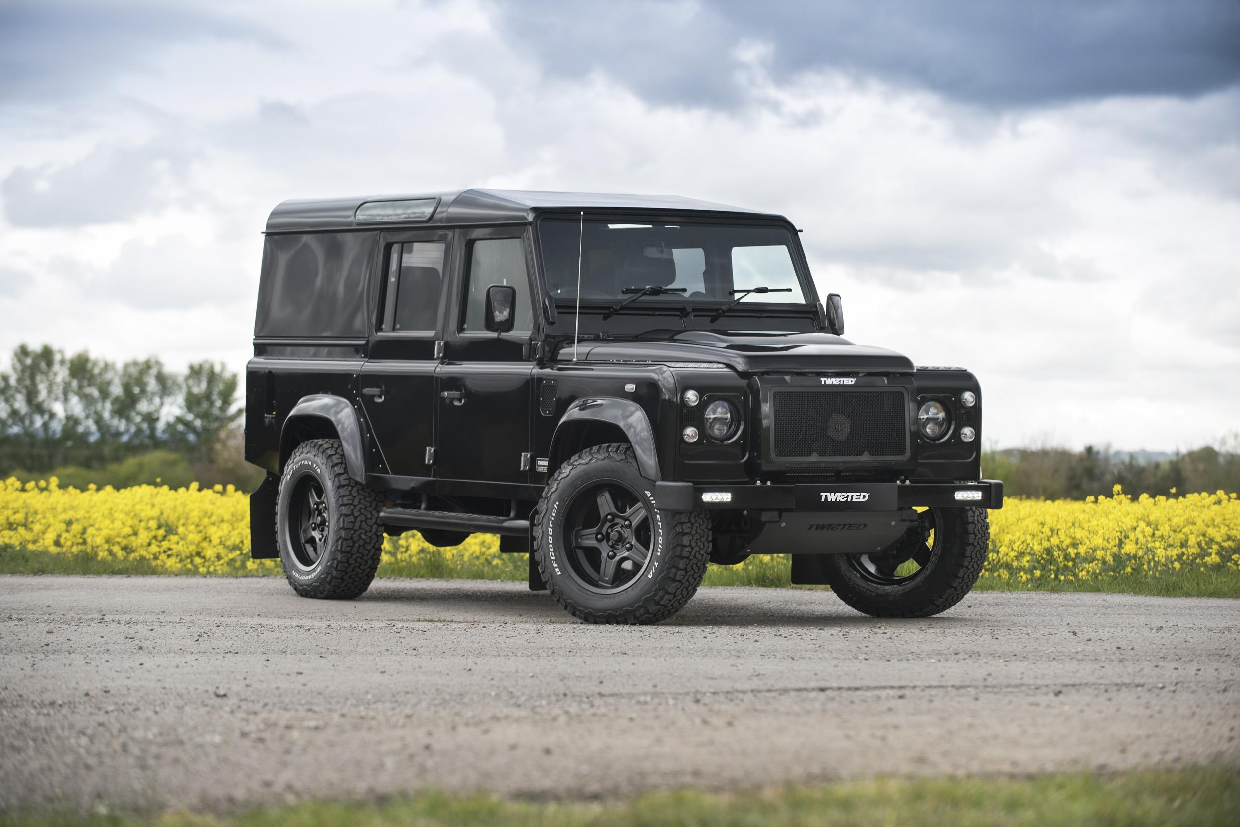 car review twisted land rover defender 110 utility the independent. Black Bedroom Furniture Sets. Home Design Ideas