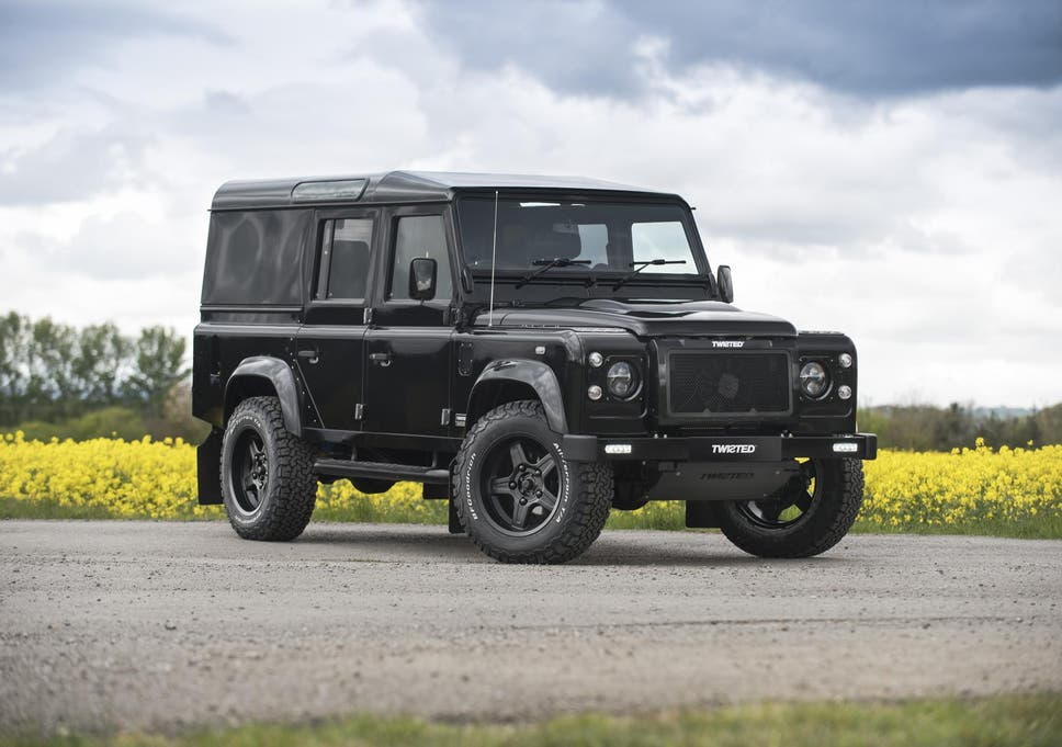 Car Review Twisted Land Rover Defender 110 Utility The Independent