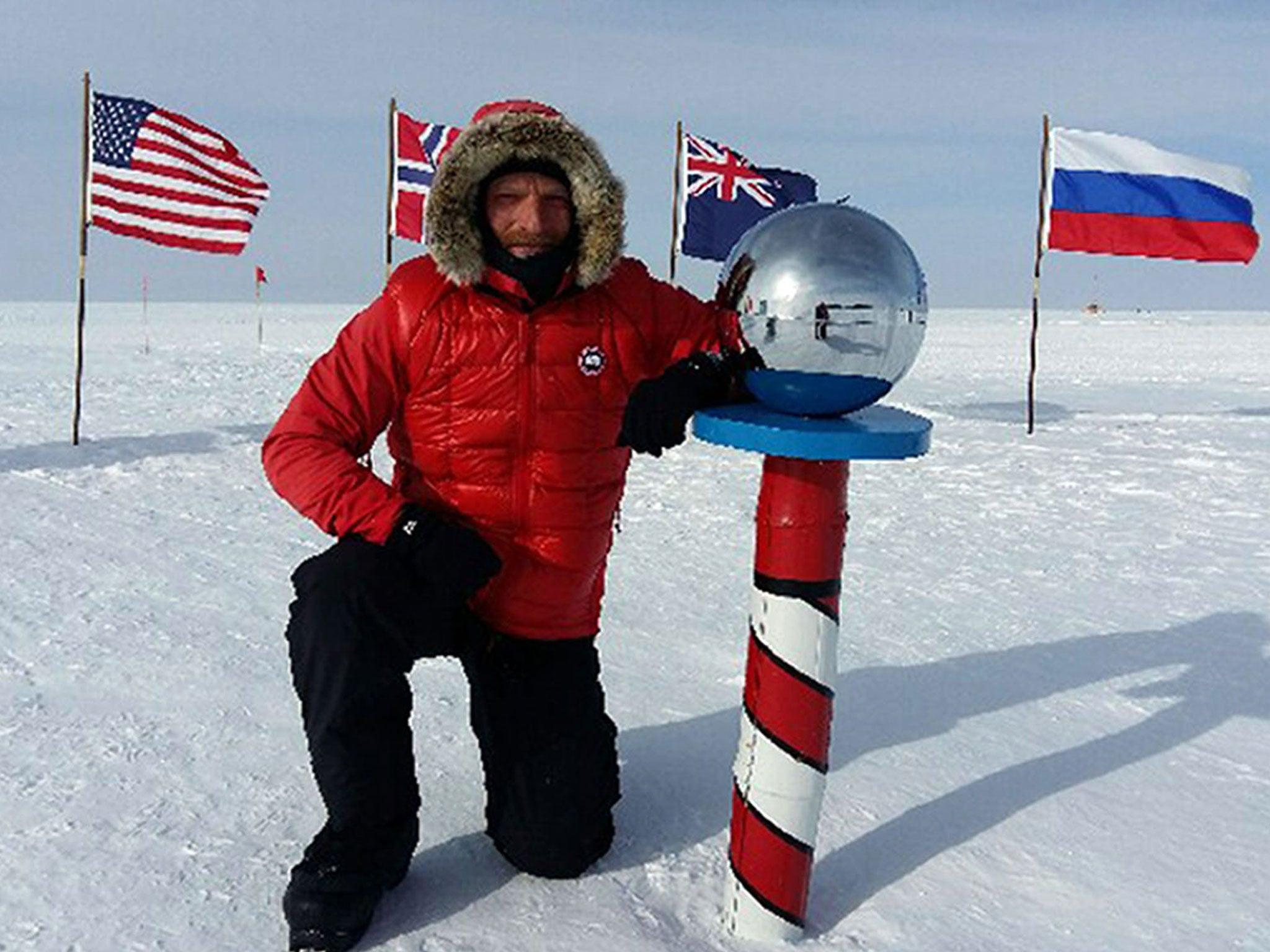 Ben Saunders: British explorer abandons historic trek across Antarctica