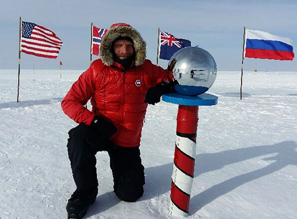 Ben Saunders attempted what he describes as the first ever solo, unassisted crossing of Antarctica in memory of his friend, Lt Col Henry Worsley, who died on an expedition to traverse Antarctic alone last year
