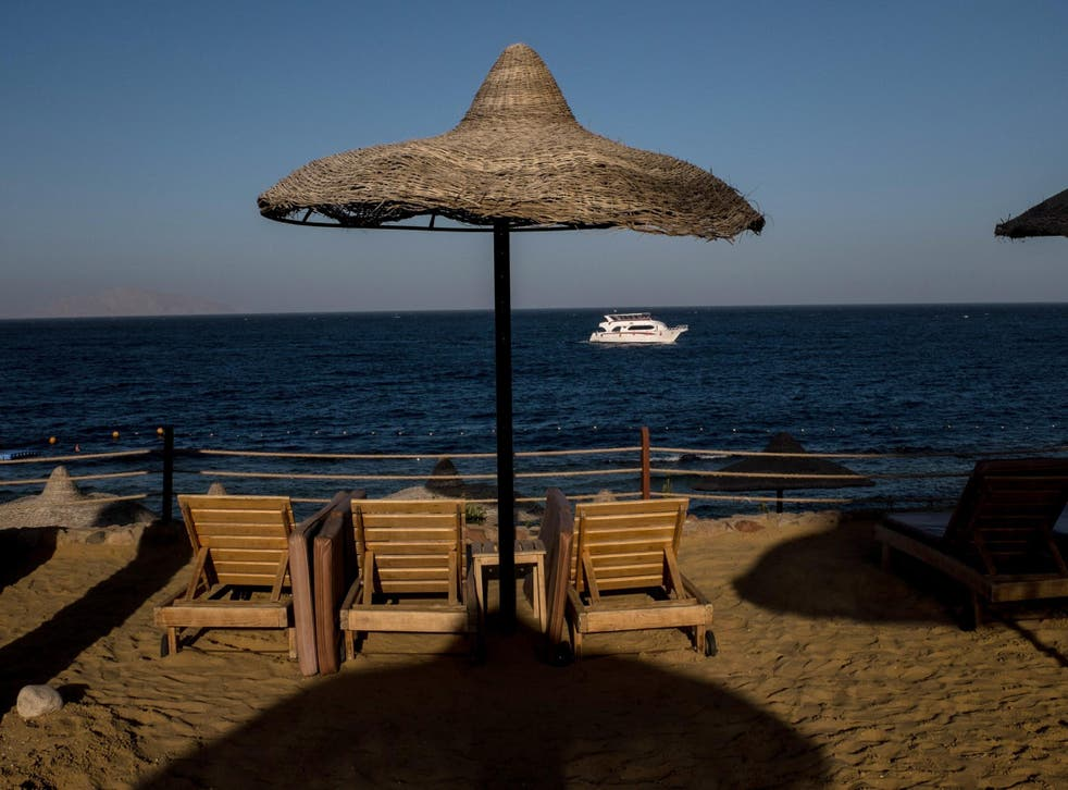 Sharm el Sheikh's tourism industry has been devastated in recent years
