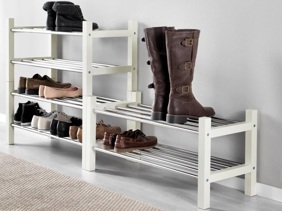 Choose options which stack or extend for flexibility & 10 best shoe racks | The Independent