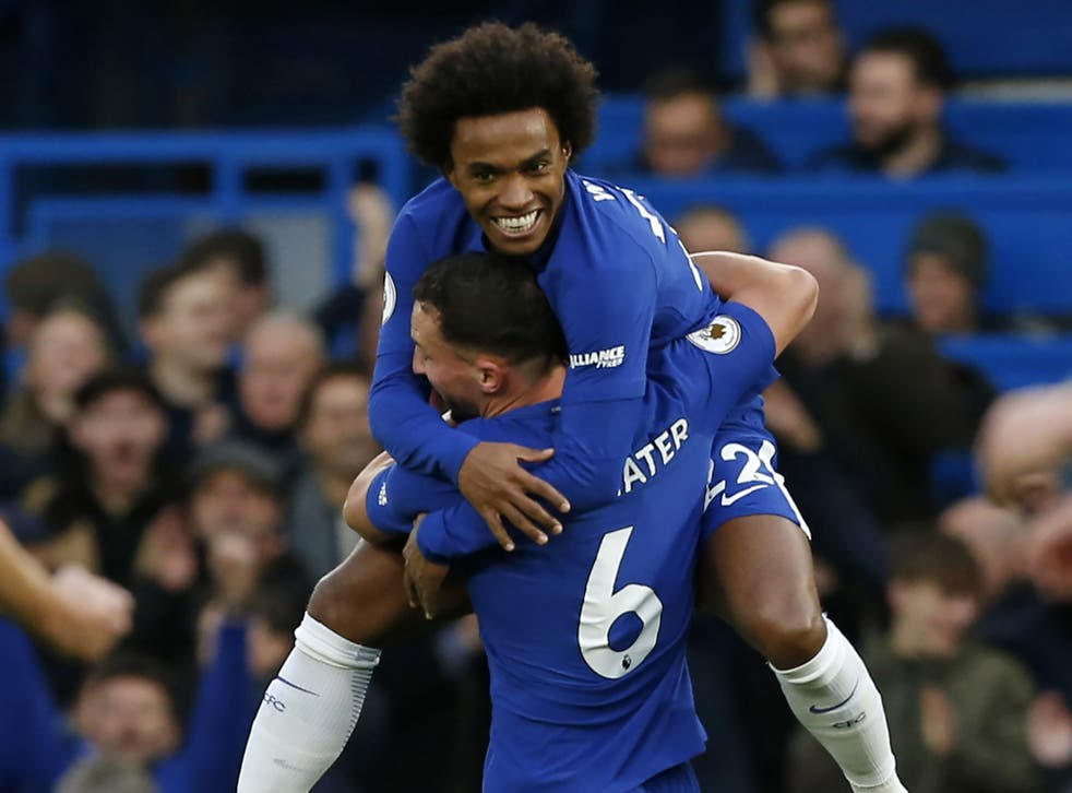 Danny Drinkwater scored his first goal of the season