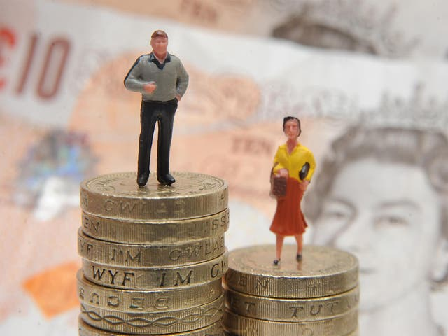 Latest figures show that inequality among the sexes has grown