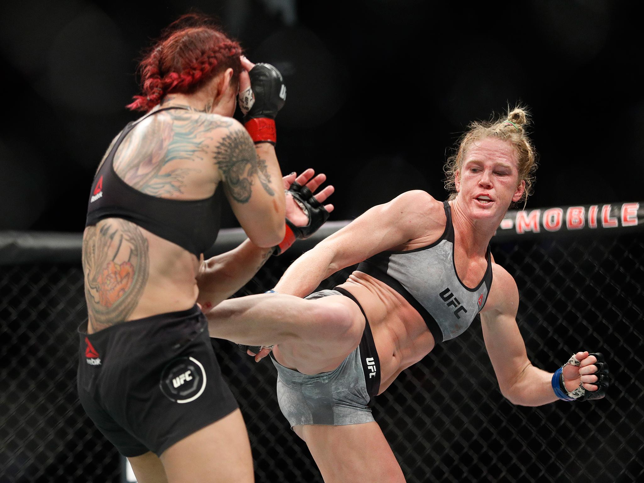 ufc 219 results cris cyborg beats holly holm as khabib nurmagomedov