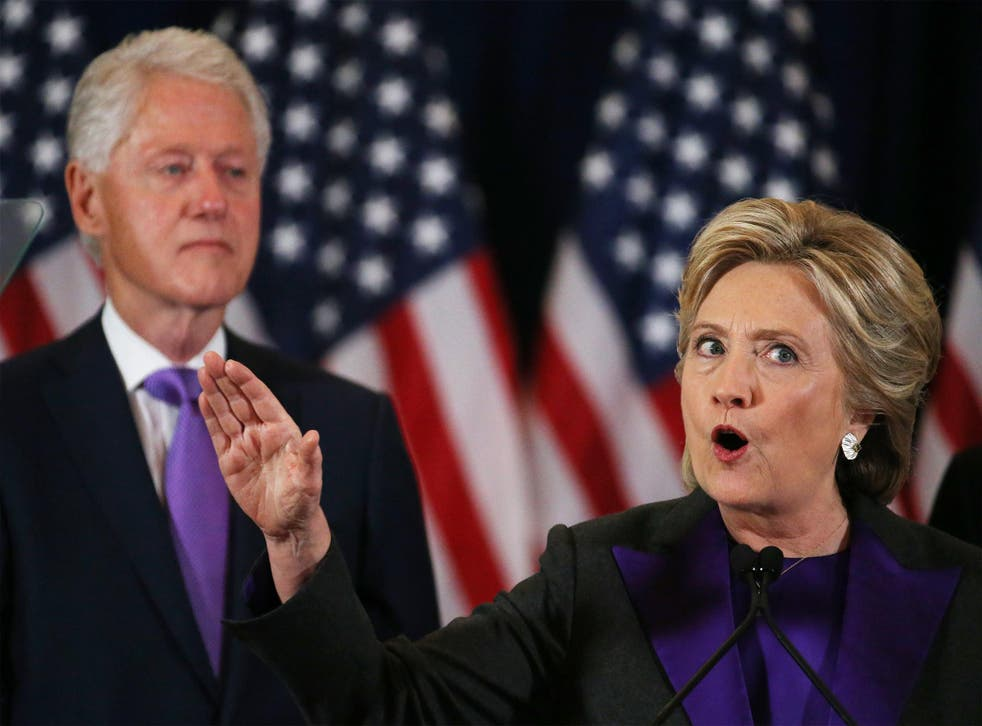 Hillary Clinton has partly blamed foreign interference for the failure of her presidential bid