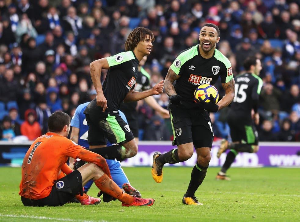 Callum Wilson scored Bournemouth's all-important second goal