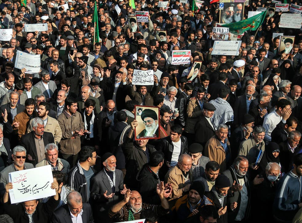 Anti-government protests erupted in Iran last month