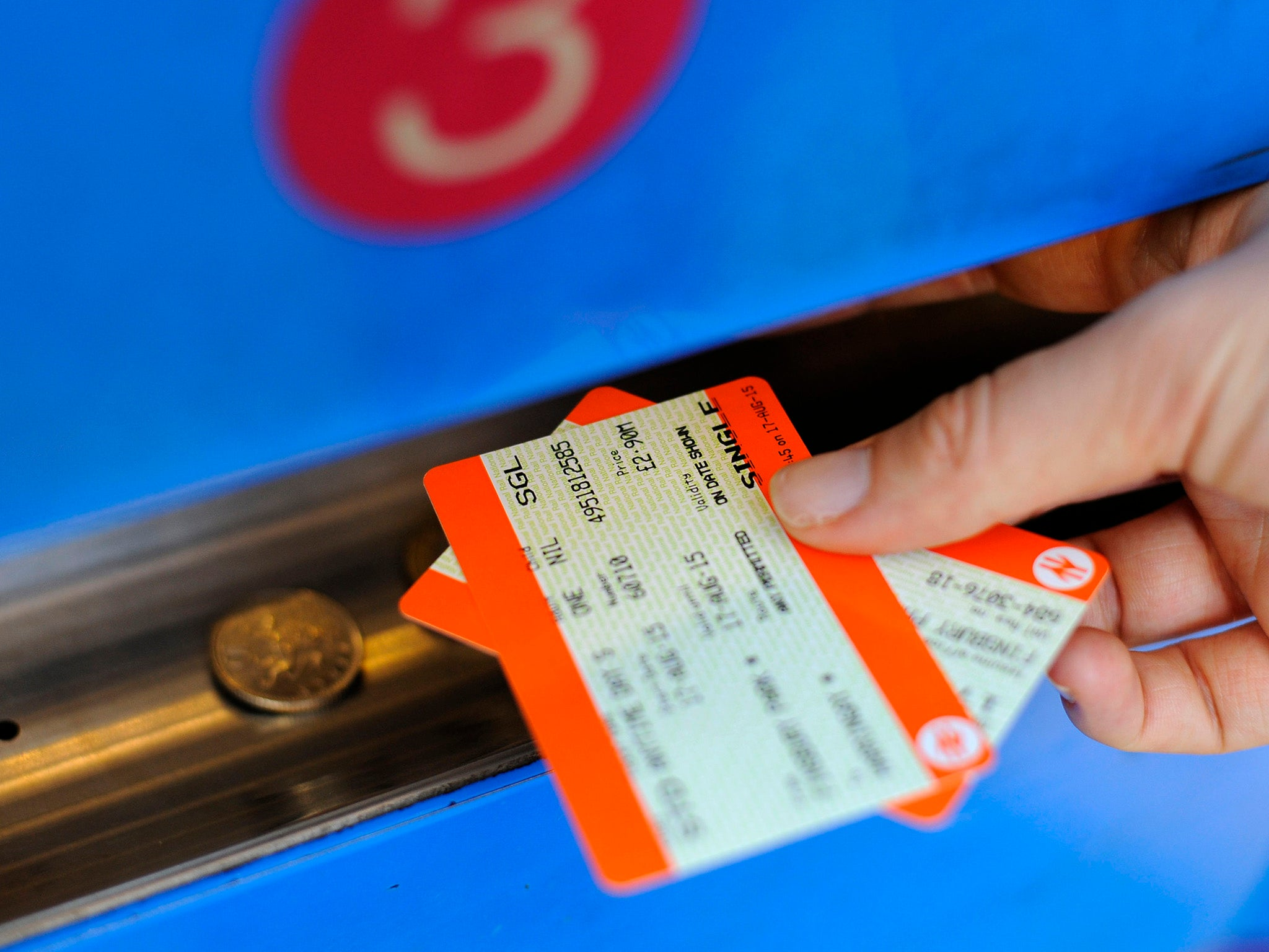 How to hand over a train ticket purchased through 24