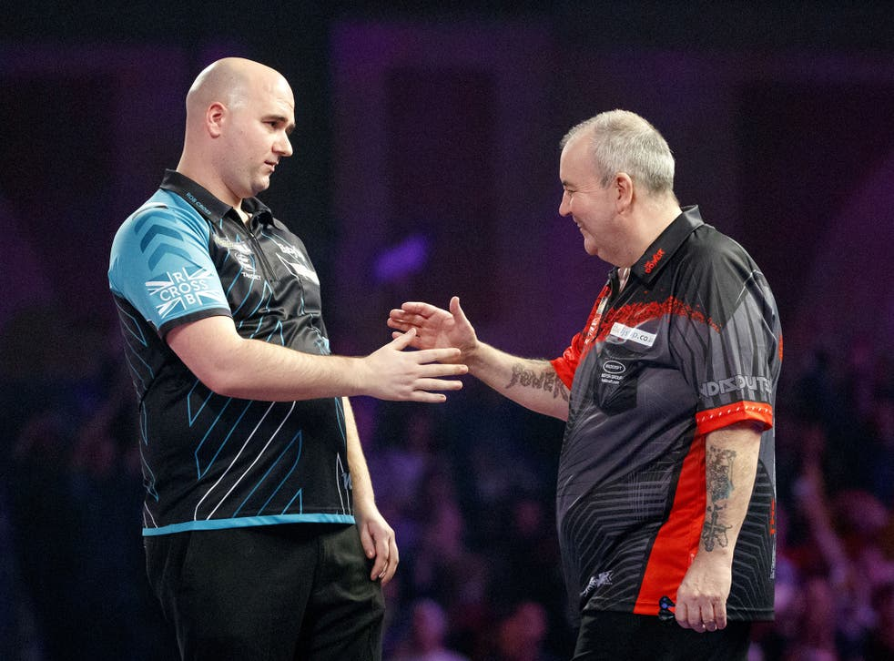 Rob Cross beat Phil Taylor 7-2 in the 2018 world championship final
