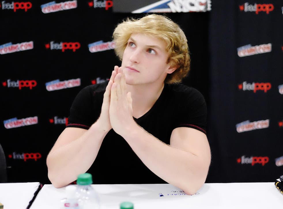 """Actor Logan Paul attends """"The Thinning"""" Meet & Greet during the 2016 New York Comic Con - Day 3 on October 8, 2016 in New York City"""