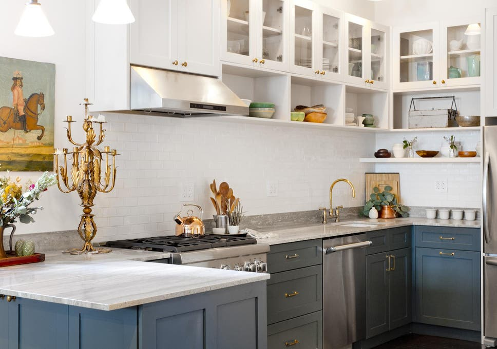 Although White Will Always Be A Classic Colour For Kitchen Design,  Homeowners Are Shying Away
