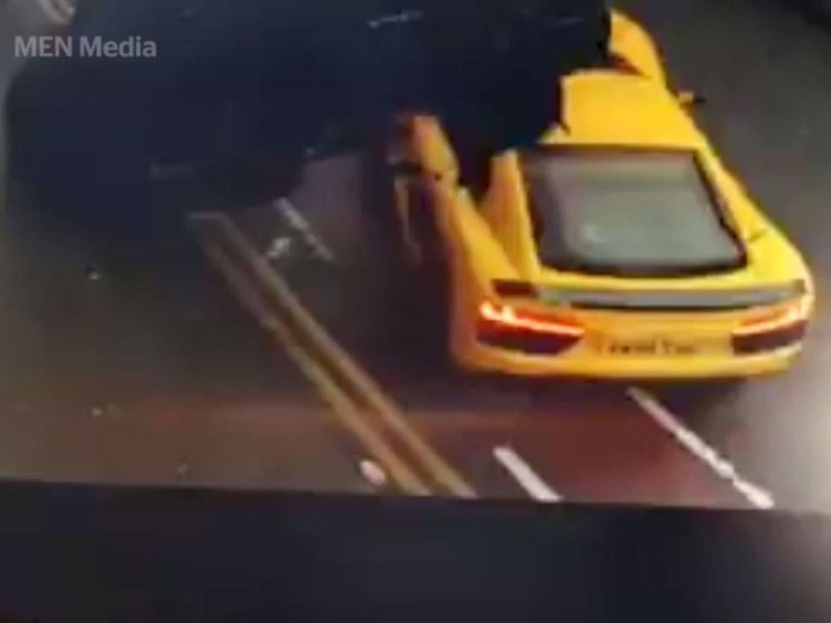 Audi R8 caught on video smashing into other car and hospitalising one child