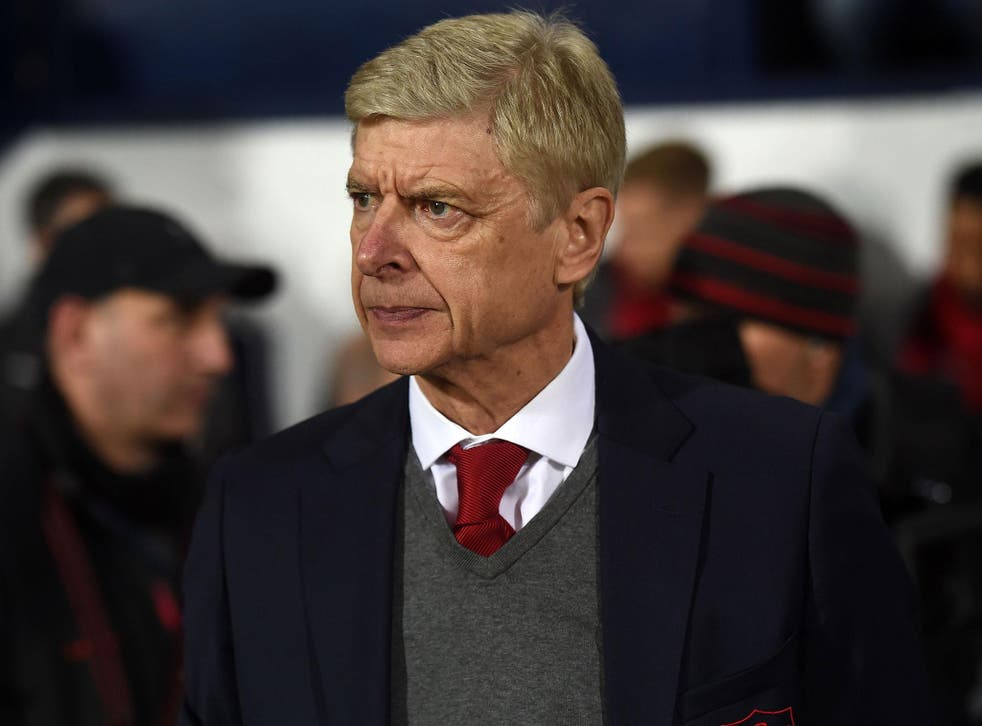 Arsene Wenger said a bigger league of referees is needed