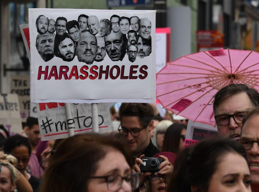 The shocking findings come after the #MeToo movement exposing sexual harassment began