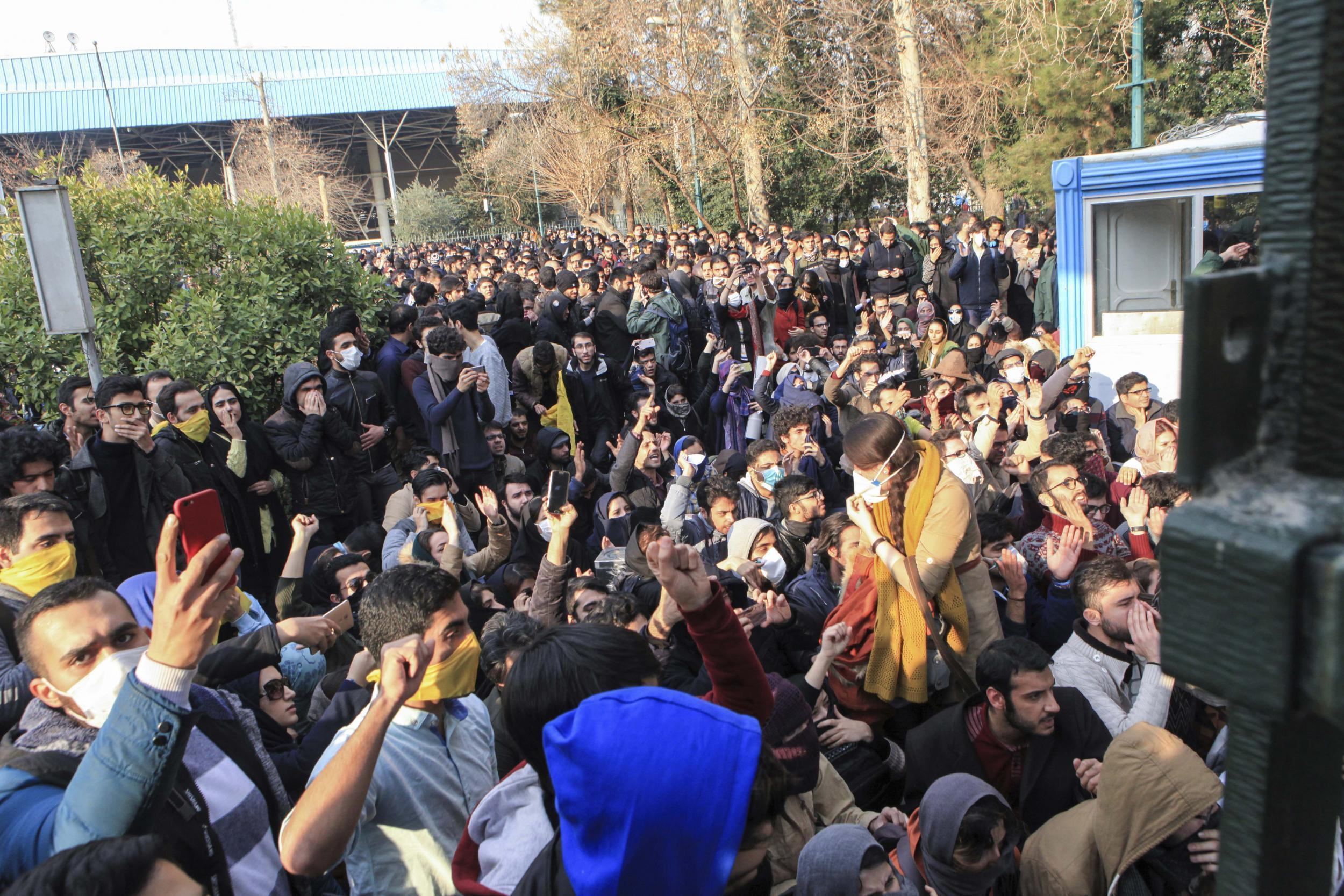 Theres no easy way for president rouhani to end the iran protests theres no easy way for president rouhani to end the iran protests the independent fandeluxe Images