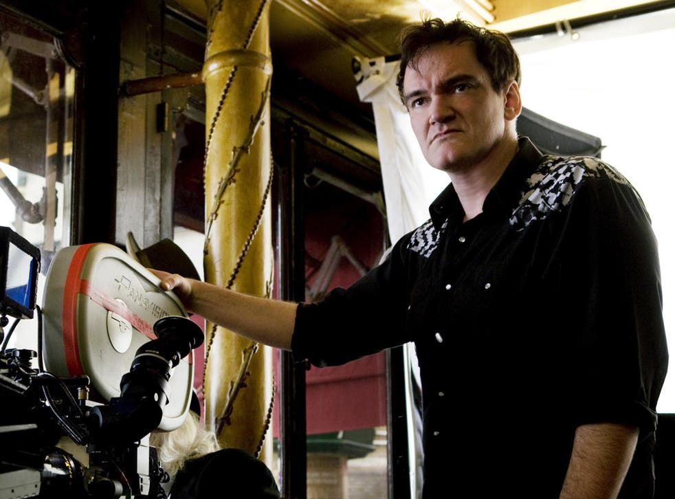 Quentin Tarantino has forbidden mobile phones on the set of his films