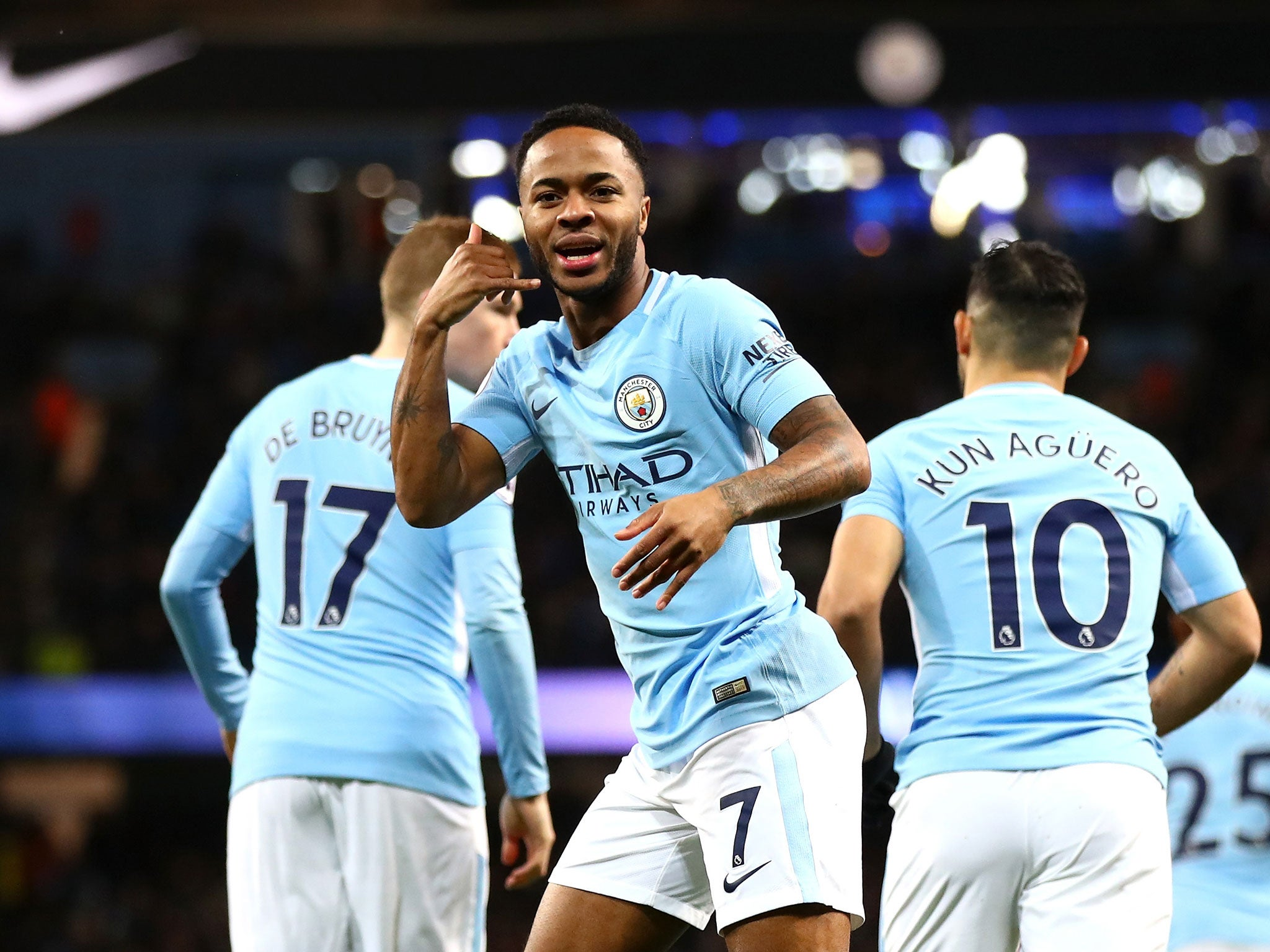 manchester city back in business with comfortable home win
