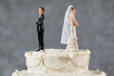 Divorce rate for heterosexual couples hits 45-year low
