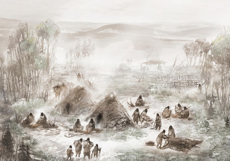 Evidence of first ever humans to colonise North America found by