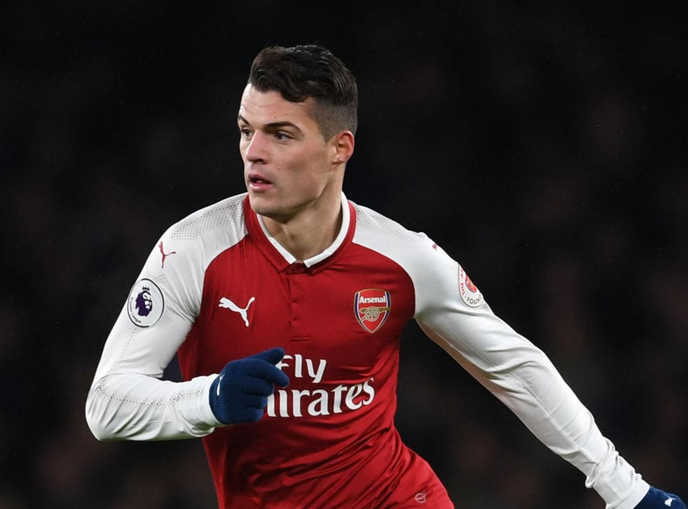 Granit Xhaka joins a lengthy injury list ahead of Arsenal's trip to Forest