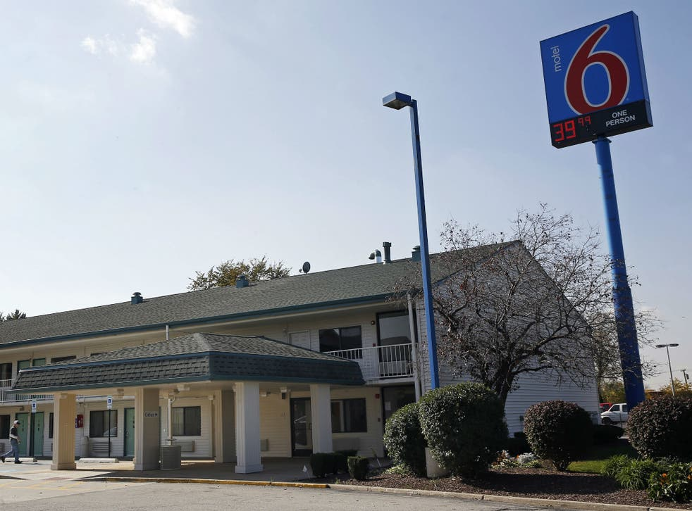 A Motel 6 is seen in Hammond, Indiana