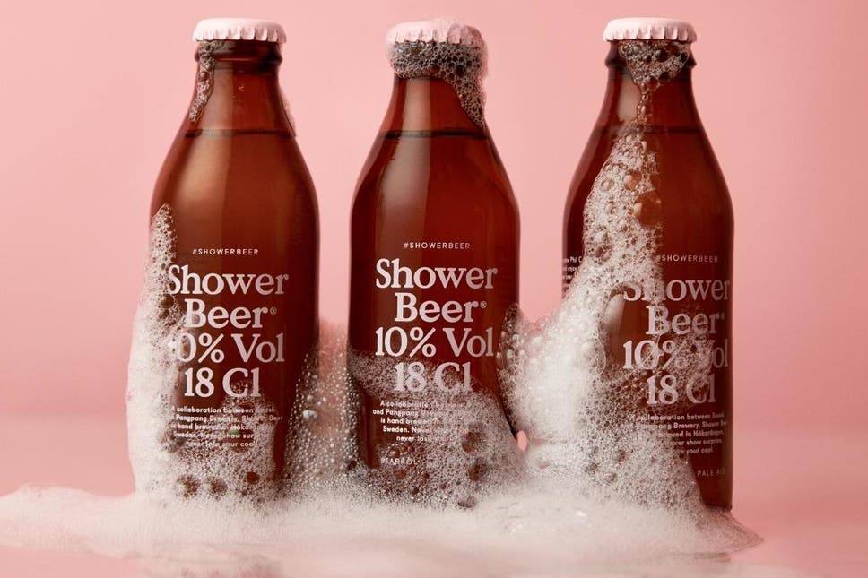 You can now buy a beer made for drinking in the shower | The Independent