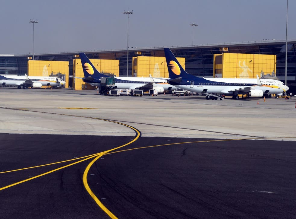 Jet Airways said it has grounded both pilots following the incident