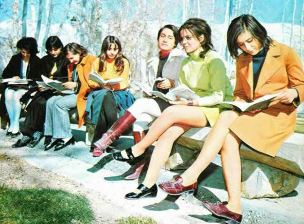 Iranian students pictured in the Seventies – demonstrators taking to the streets pose questions about their country's direction