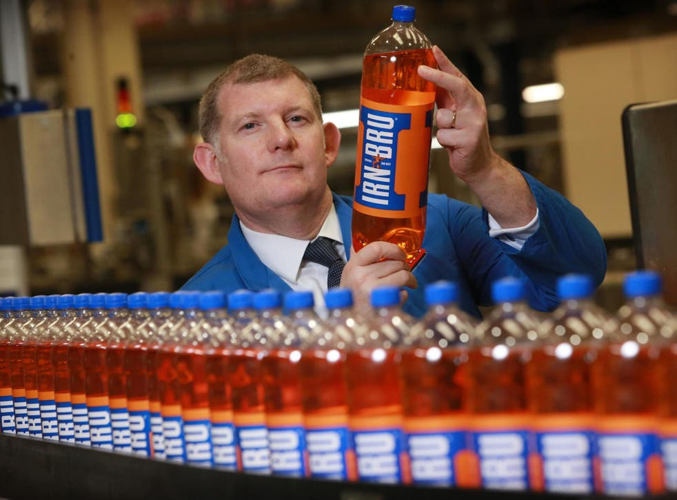 AG Barr claims most people will not taste the difference in the new Irn Bru recipe